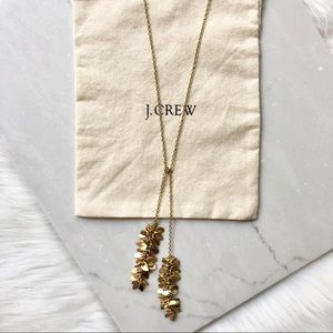 J. Crew Long Gold Necklace